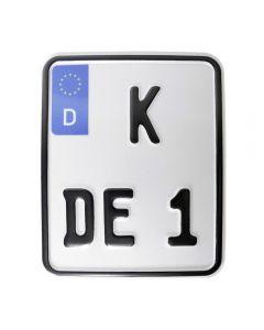 Sportkennzeichen/ Wettbewerbskennzeichen/ Endurokennzeichen