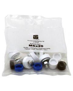 Kennzeichenschrauben M5x20