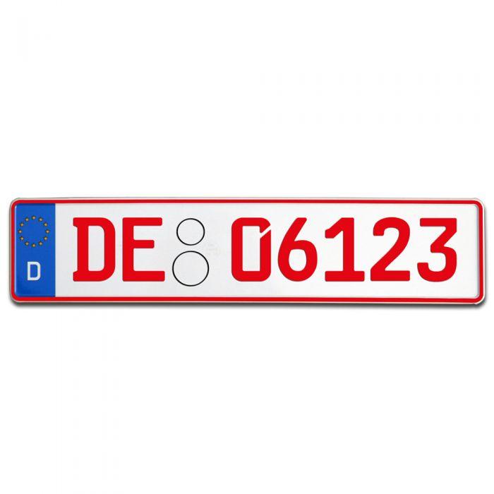 Rote Kennzeichen und Überführungskennzeichen bestellen