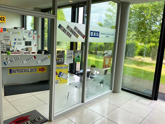 Schillderpartner für Autoschilder in Frankfurt am Main