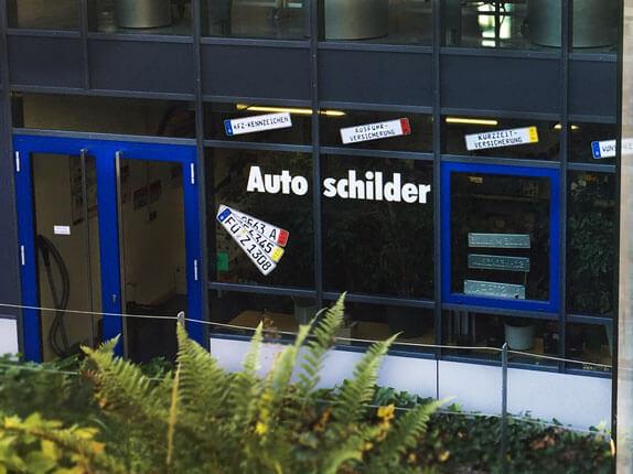 Schillderpartner für Autoschilder in Zirndorf