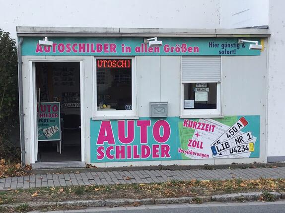 Schillderpartner für Autoschilder in Bad Liebenwerda