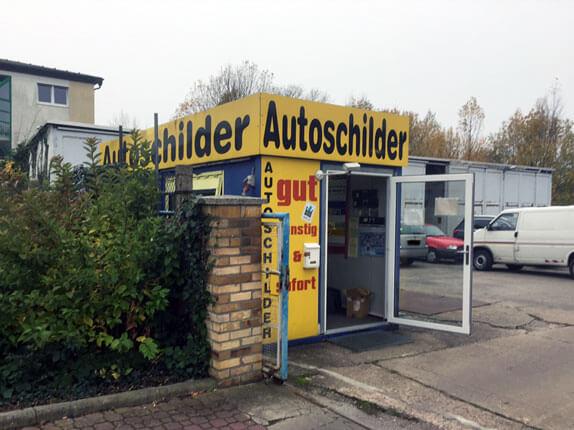 Schillderpartner für Autoschilder in Delitzsch
