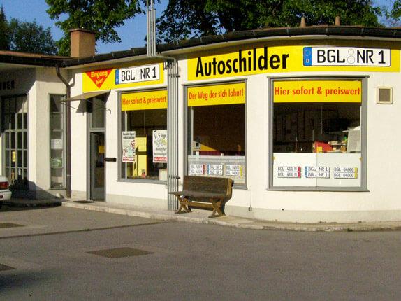Schillderpartner für Autoschilder in Bad Reichenhall