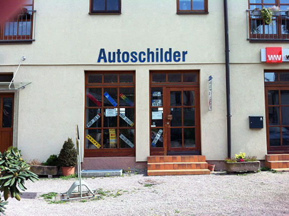Schillderpartner für Autoschilder in Lohr am Main