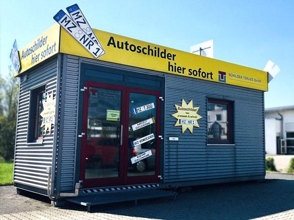 Schillderpartner für Autoschilder in Oppenheim
