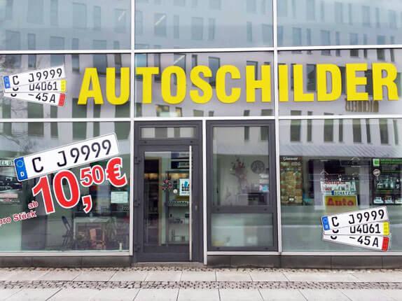 Schillderpartner für Autoschilder in Chemnitz