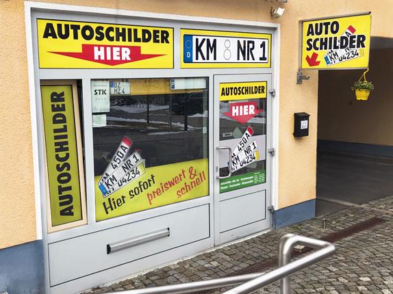 Schillderpartner für Autoschilder in Kamenz