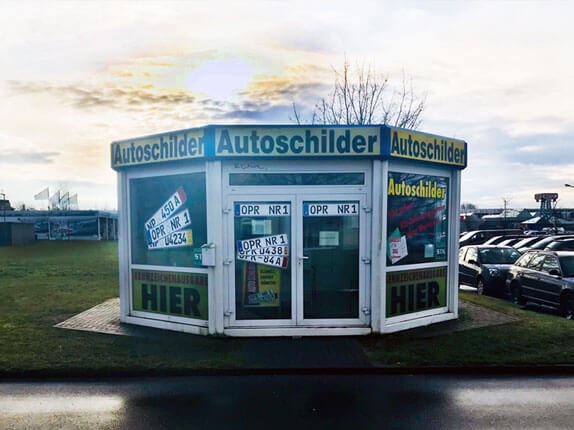 Schillderpartner für Autoschilder in Neuruppin