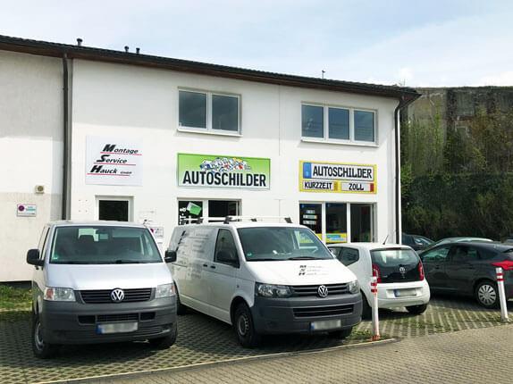 Schillderpartner für Autoschilder in Plauen