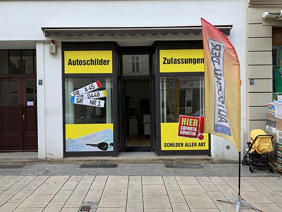 Schillderpartner für Autoschilder in Görlitz