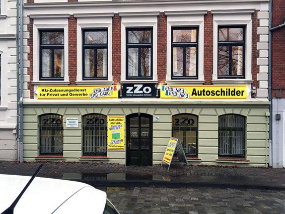 Schillderpartner für Autoschilder in Emden
