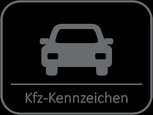 9373c35dd5 Kfz-Kennzeichen; Motorradkennzeichen; Kennzeichenhalter ...