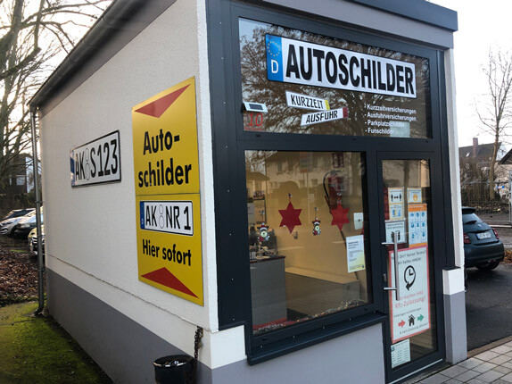 Schillderpartner für Autoschilder in Altenkirchen