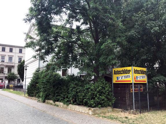 Schilderpartner für Autoschilder in Potsdam