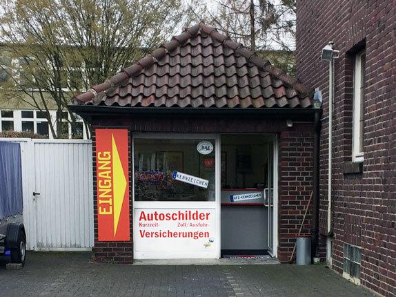 Schilderpartner für Autoschilder in Hamm-Heessen
