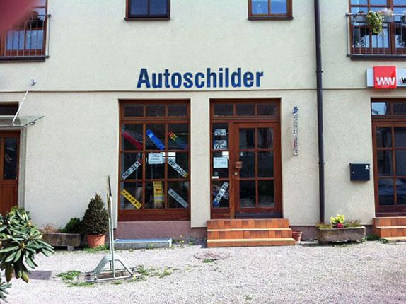 Schilderpartner für Autoschilder in Lohr am Main