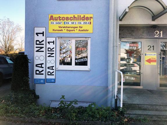 Schilderpartner für Autoschilder in Bühl-Baden