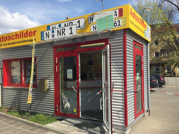 Schillderpartner für Autoschilder in Nürnberg