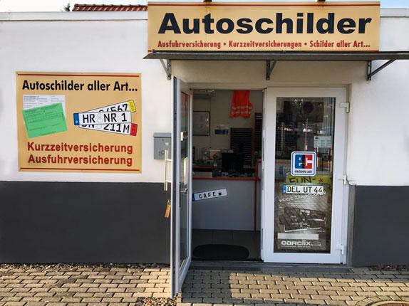Schilderpartner für Autoschilder in Melsungen