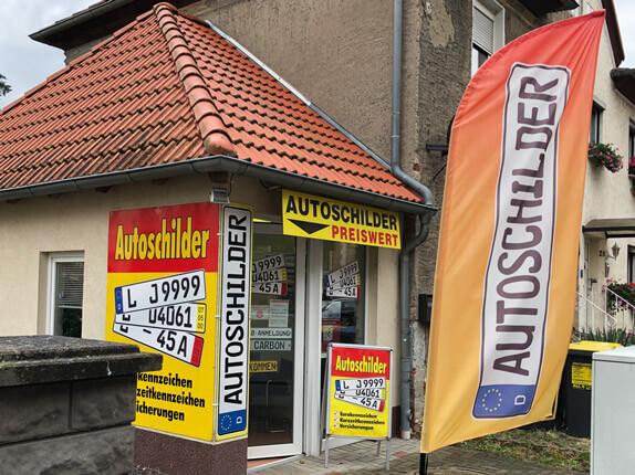 Schilderpartner für Autoschilder in Borna