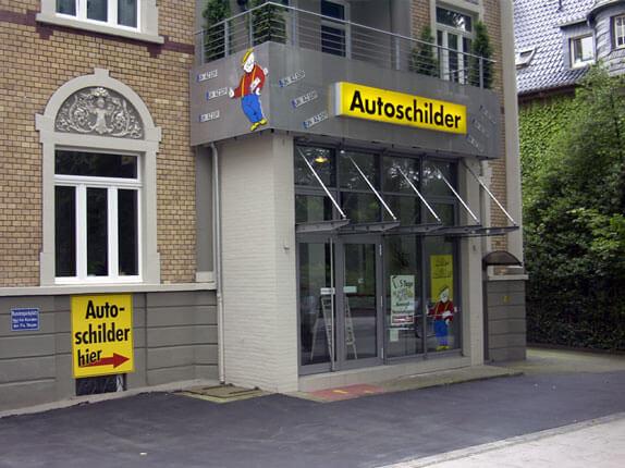 Schilderpartner für Autoschilder in Unna