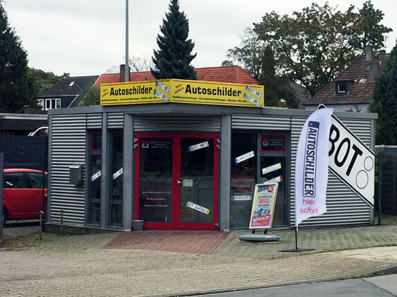 Schillderpartner für Autoschilder in Bottrop