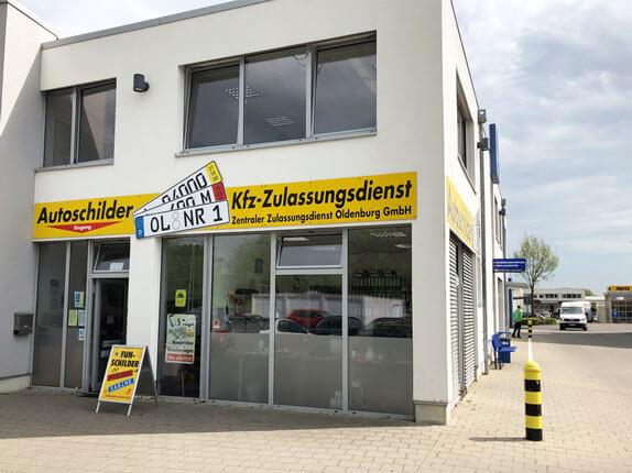 Schilderpartner für Autoschilder in Oldenburg