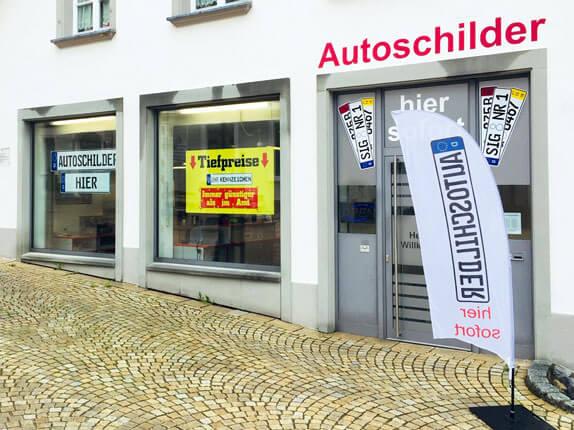 Schilderpartner für Autoschilder in Pfullendorf