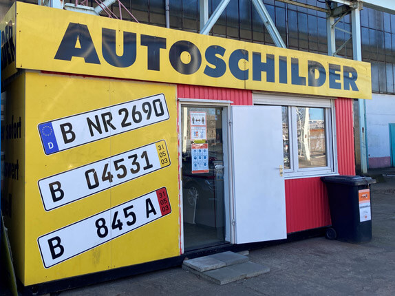 Schilderpartner für Autoschilder in Berlin-Ost
