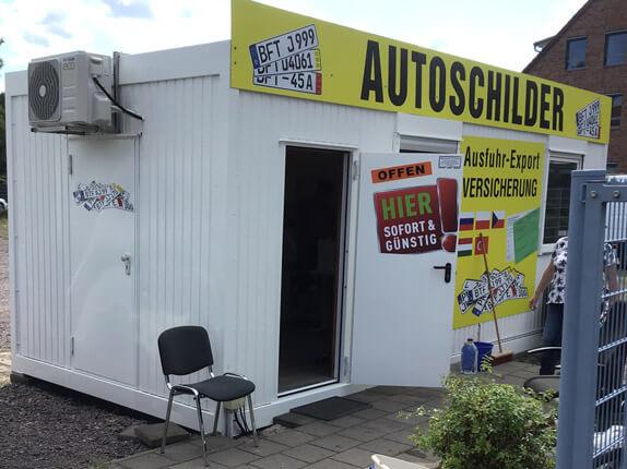 Schilderpartner für Autoschilder in Bitterfeld