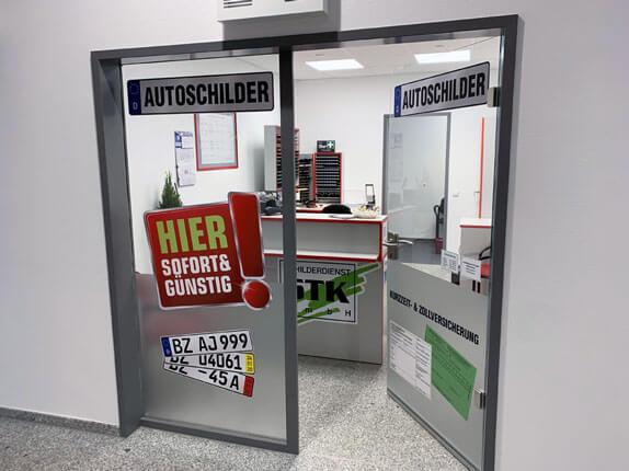 Schilderpartner für Autoschilder in Bautzen