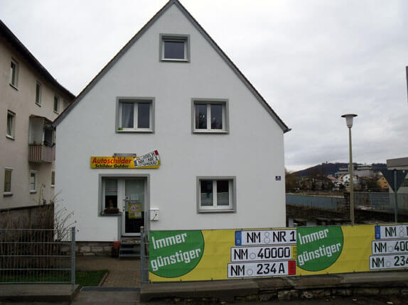 Schilderpartner für Autoschilder in Neumarkt in der Oberpfalz