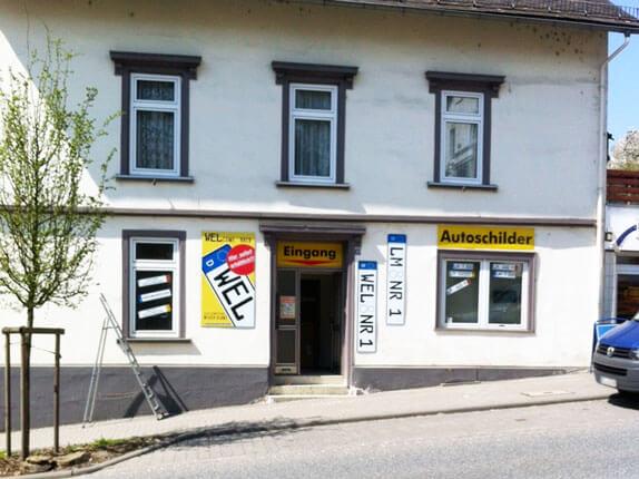 Schilderpartner für Autoschilder in Weilburg