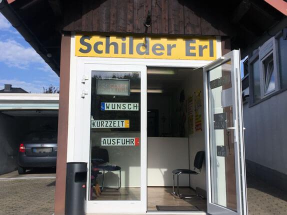 Schilderpartner für Autoschilder in Iserlohn