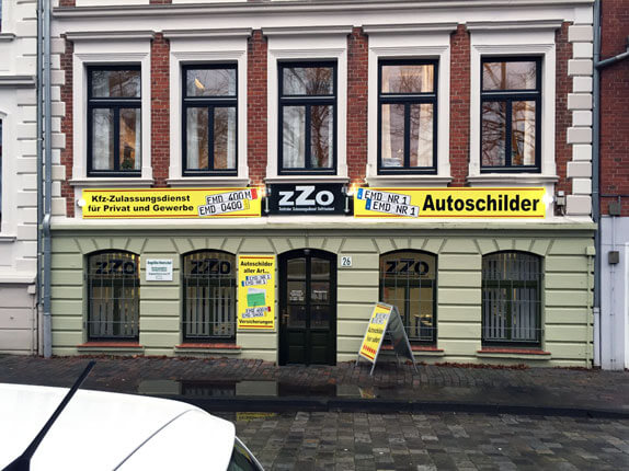 Schilderpartner für Autoschilder in Emden