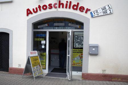 Schillderpartner für Autoschilder in Müllheim