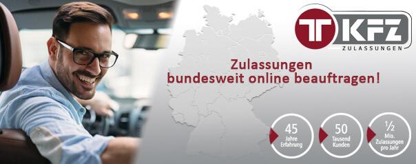Kfz Zulassung online beauftragen