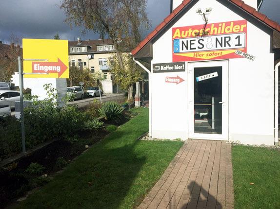 Schilderpartner für Autoschilder in Bad Neustadt
