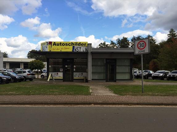 Schillderpartner für Autoschilder in Westerstede