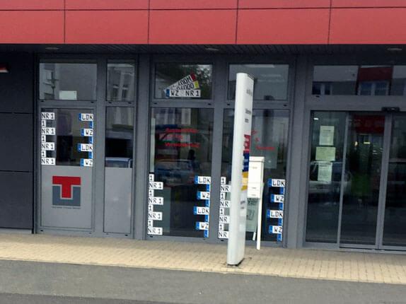 Schilderpartner für Autoschilder in Wetzlar
