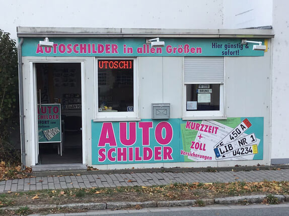 Schilderpartner für Autoschilder in Bad Liebenwerda