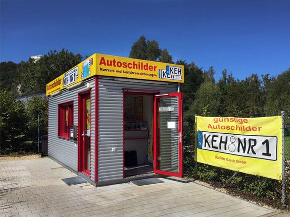 Schilderpartner für Autoschilder in Kelheim