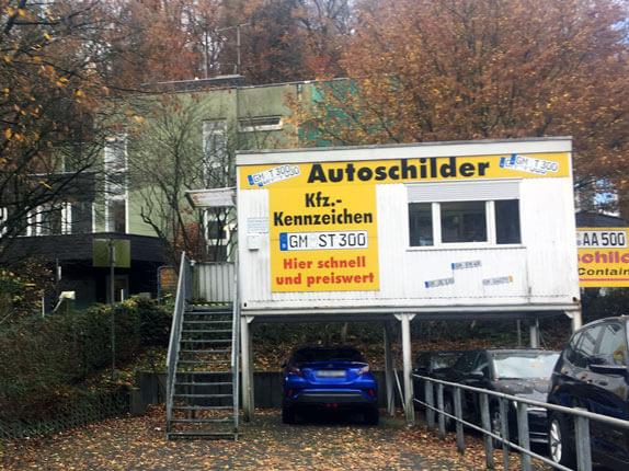 Schilderpartner für Autoschilder in Gummersbach