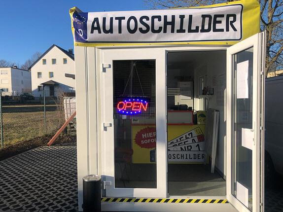 Schilderpartner für Autoschilder in Karben