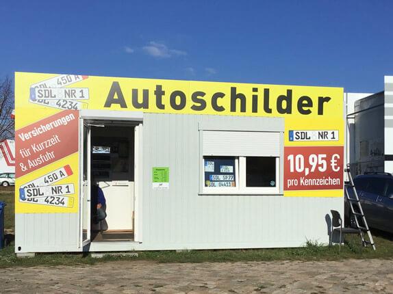 Schilderpartner für Autoschilder in Stendal
