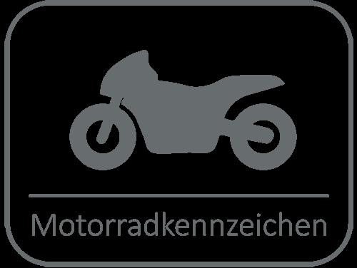 Motorradkennzeichen