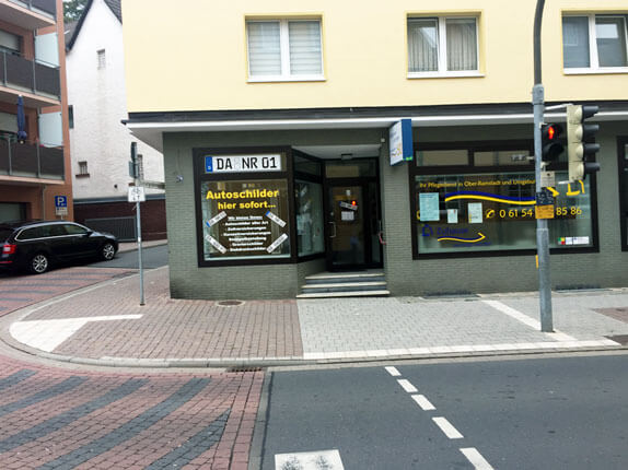 Schilderpartner für Autoschilder in Ober-Ramstadt