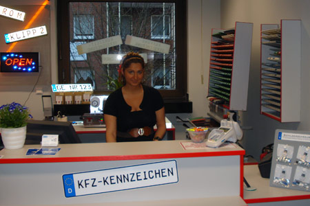 Schilderpartner für Autoschilder in Gelsenkirchen