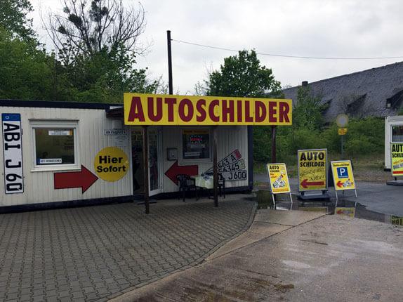 Schilderpartner für Autoschilder in Köthen in der Oberpfalz
